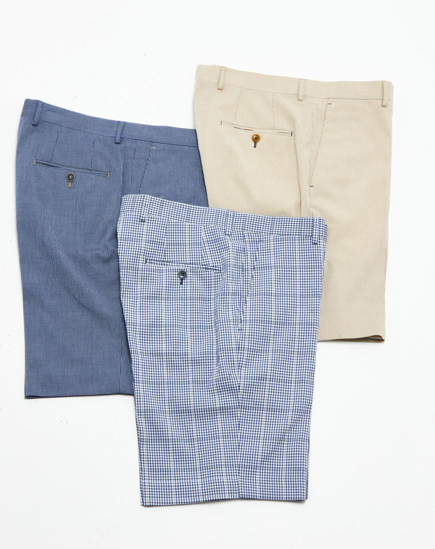 Custom pants and shorts