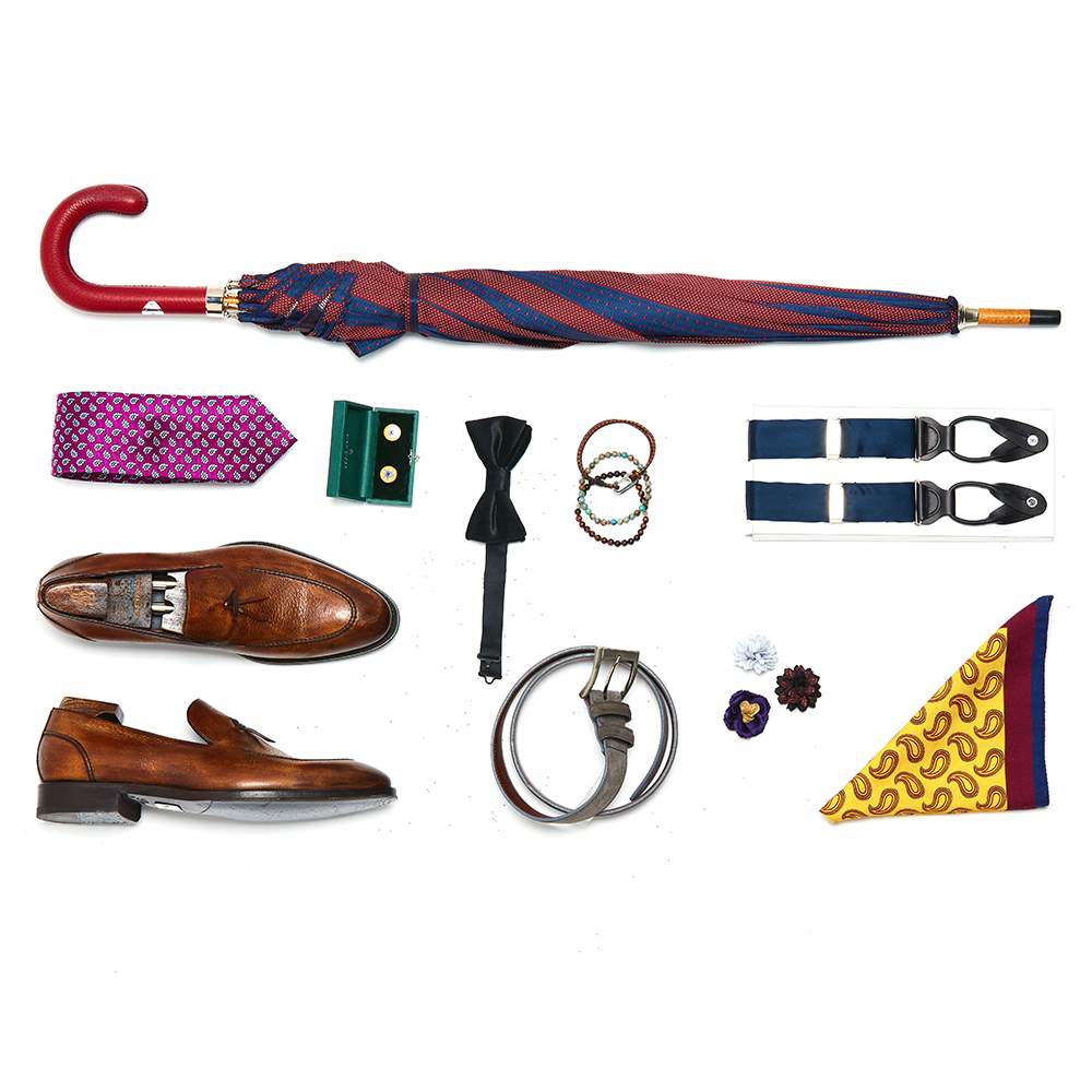 men's accessories - Ties, Belts, Shoes, Bowties, & More