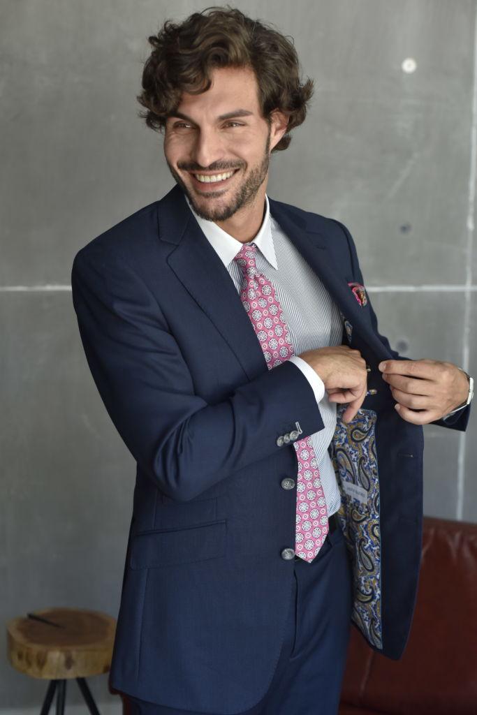 Jaxson Maximus Wedding Custom Suit