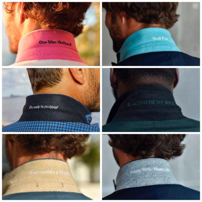 Jaxson Maximus personalized custom suit message