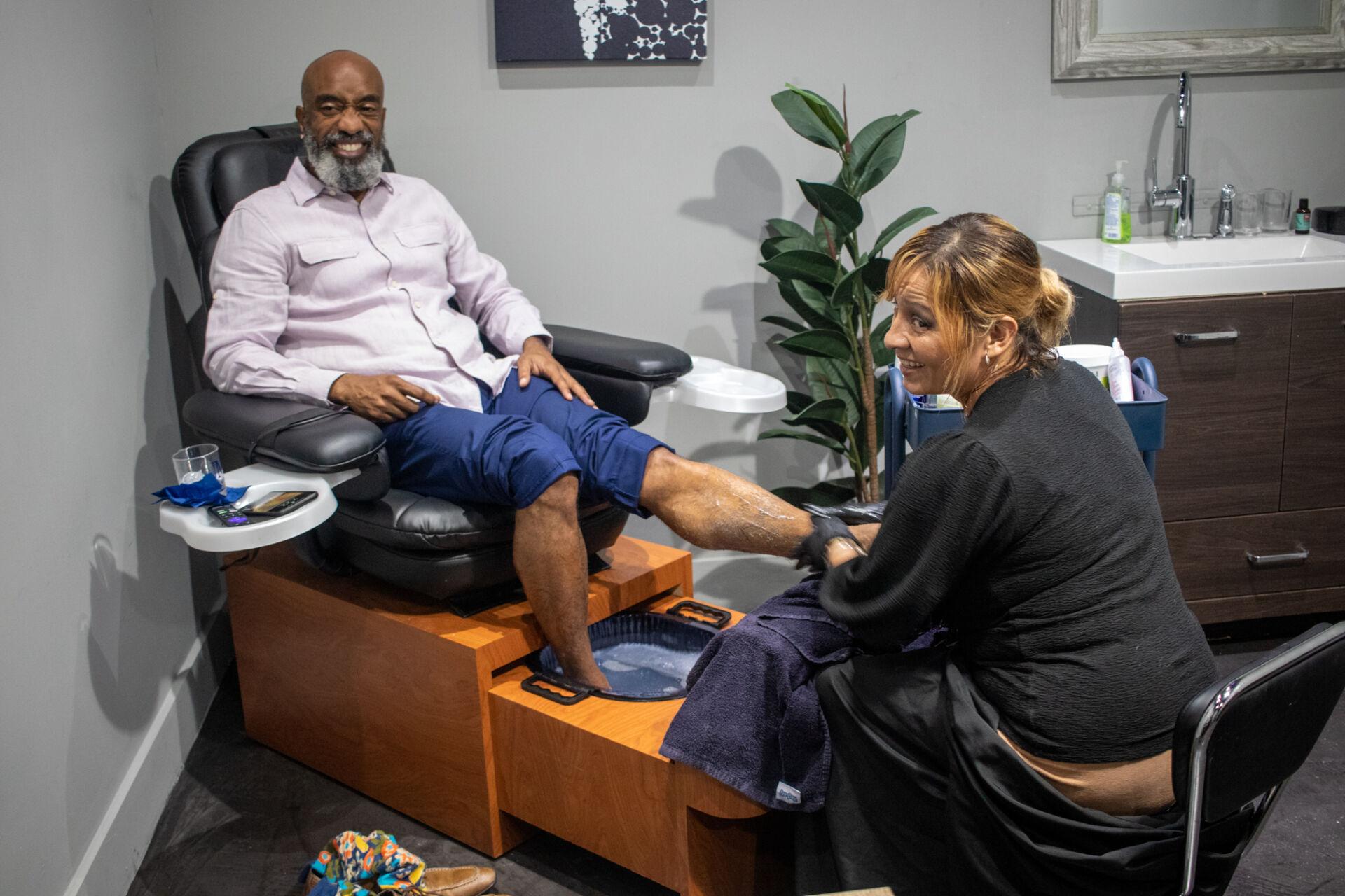 Men's Manicure & Pedicure