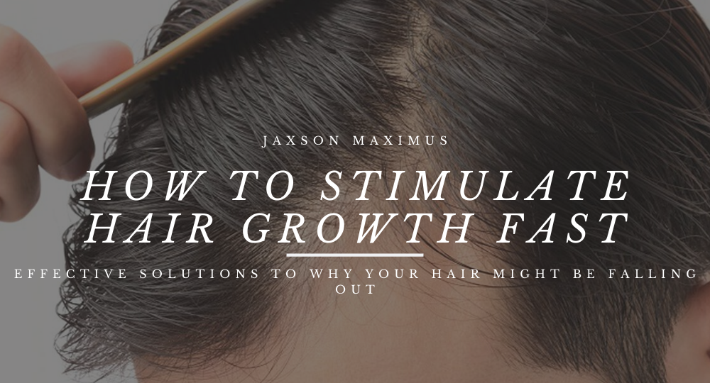 how to stimulate hair growth fast