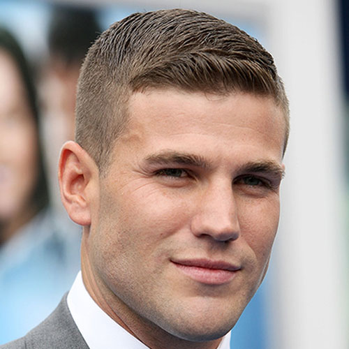 best hairstyles for men with thin hair CREWCUT