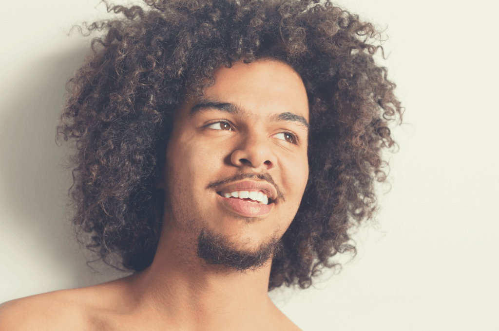 HAIRCUTS FOR MEN WITH CURLY HAIR long afro