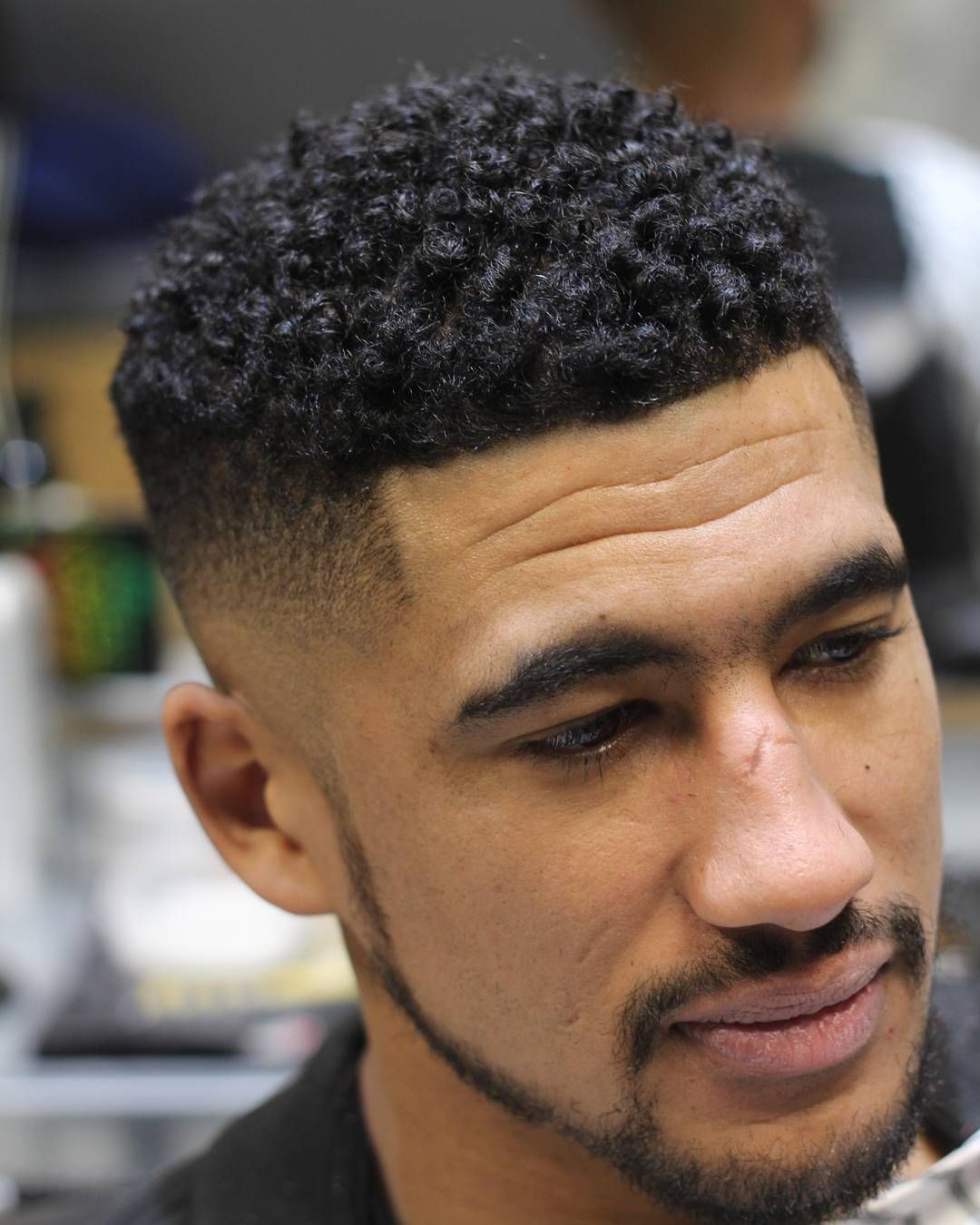 HAIRCUTS FOR MEN WITH CURLY HAIR SMALL TIGHT CURLS