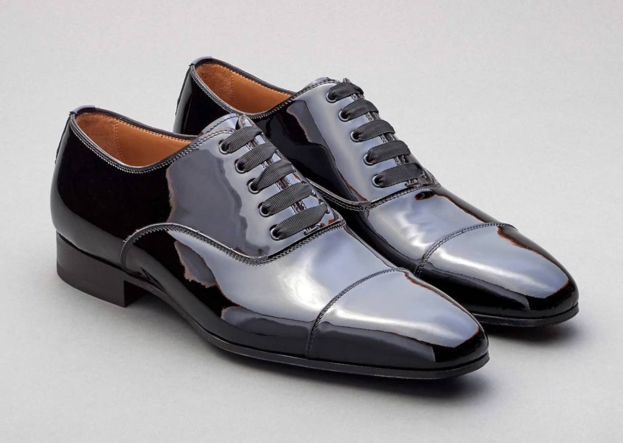 white-tie formal dress shoes