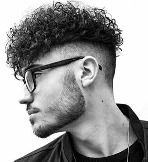 HAIRCUTS FOR MEN WITH CURLY HAIR THE UNDERCUT