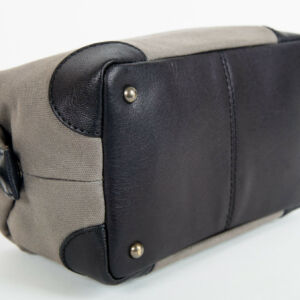 mens society leather wash bag