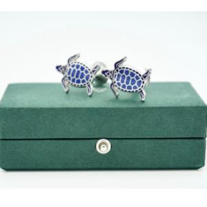 Codis Maya turtle cufflinks