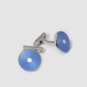 Codis Maya disk cufflinks