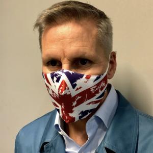 Union Jack fashion face mask