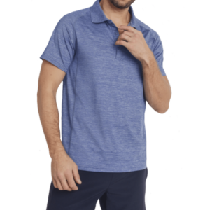 Jaxson Maximus Athleisure blue polo