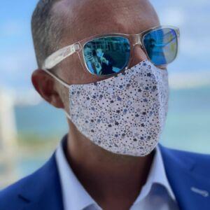 Starburst Fashion Face Mask