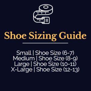slides shoe sizing guide